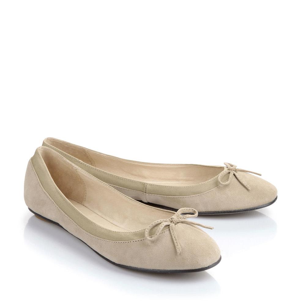 Buffalo Ballerina in beige