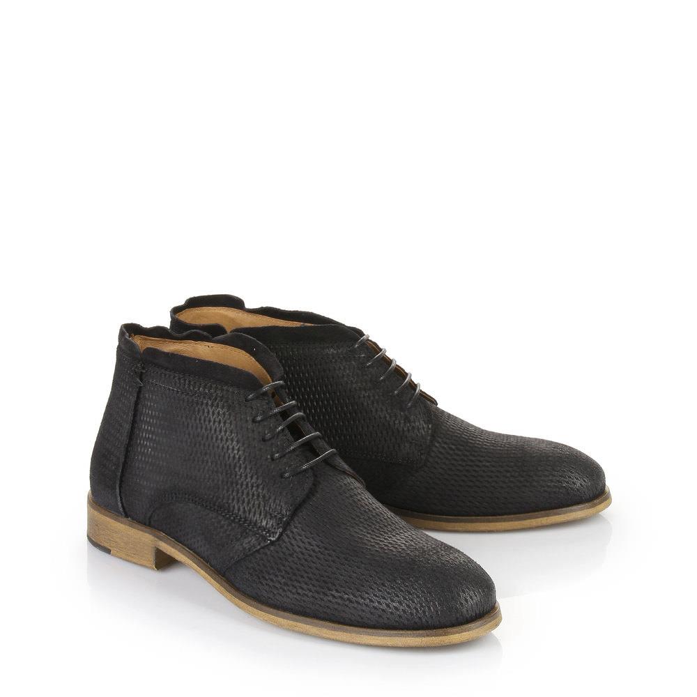 Mini boots Buffalo pour homme, noir