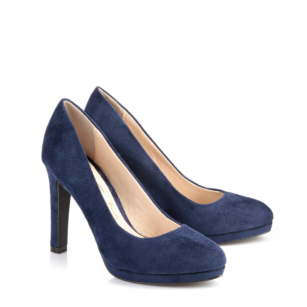 Buffalo Plateau Pumps in DUNKELBLAU