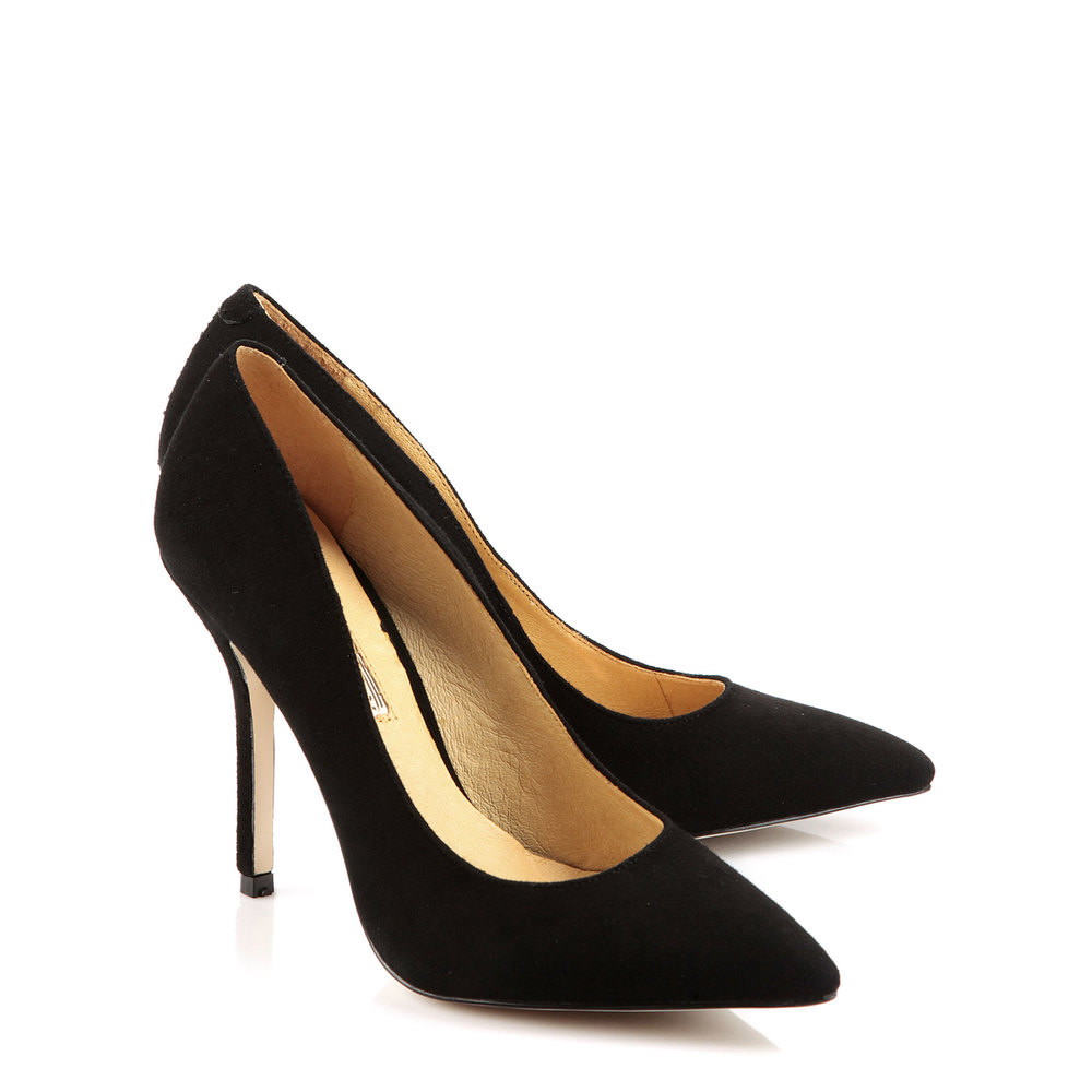 Buffalo Pumps aus Veloursleder