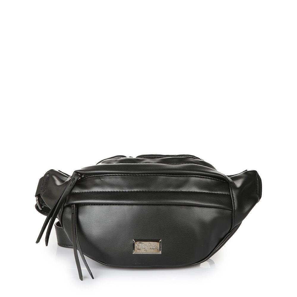 Buffalo Hip-Bag-Umhängetasche in schwarz - broschei