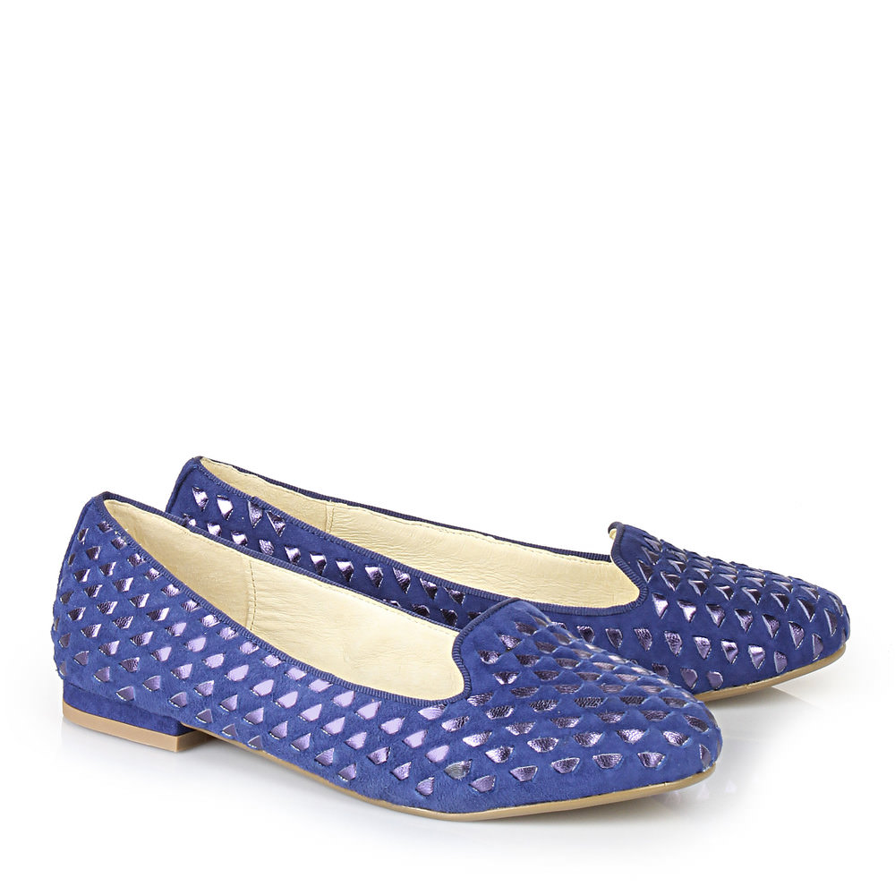 Buffalo Loafer in blau