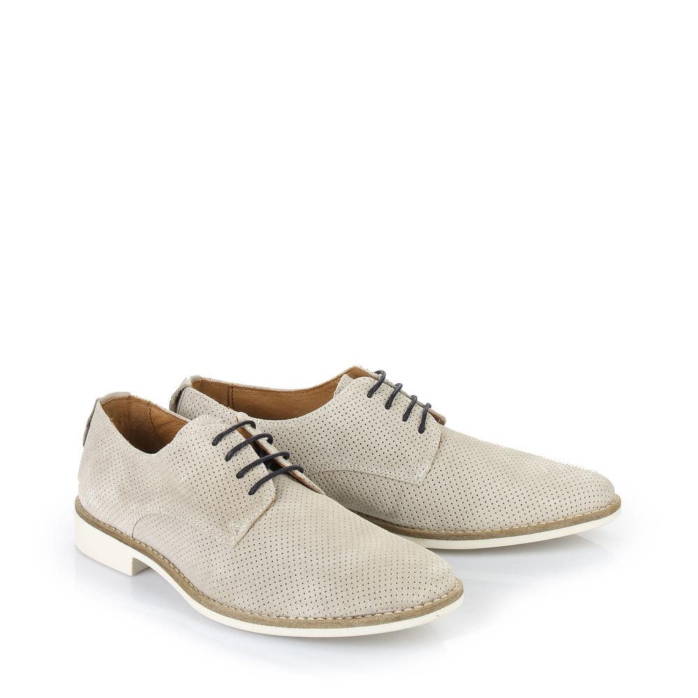 Chaussures à lacets Buffalo pour homme, beige