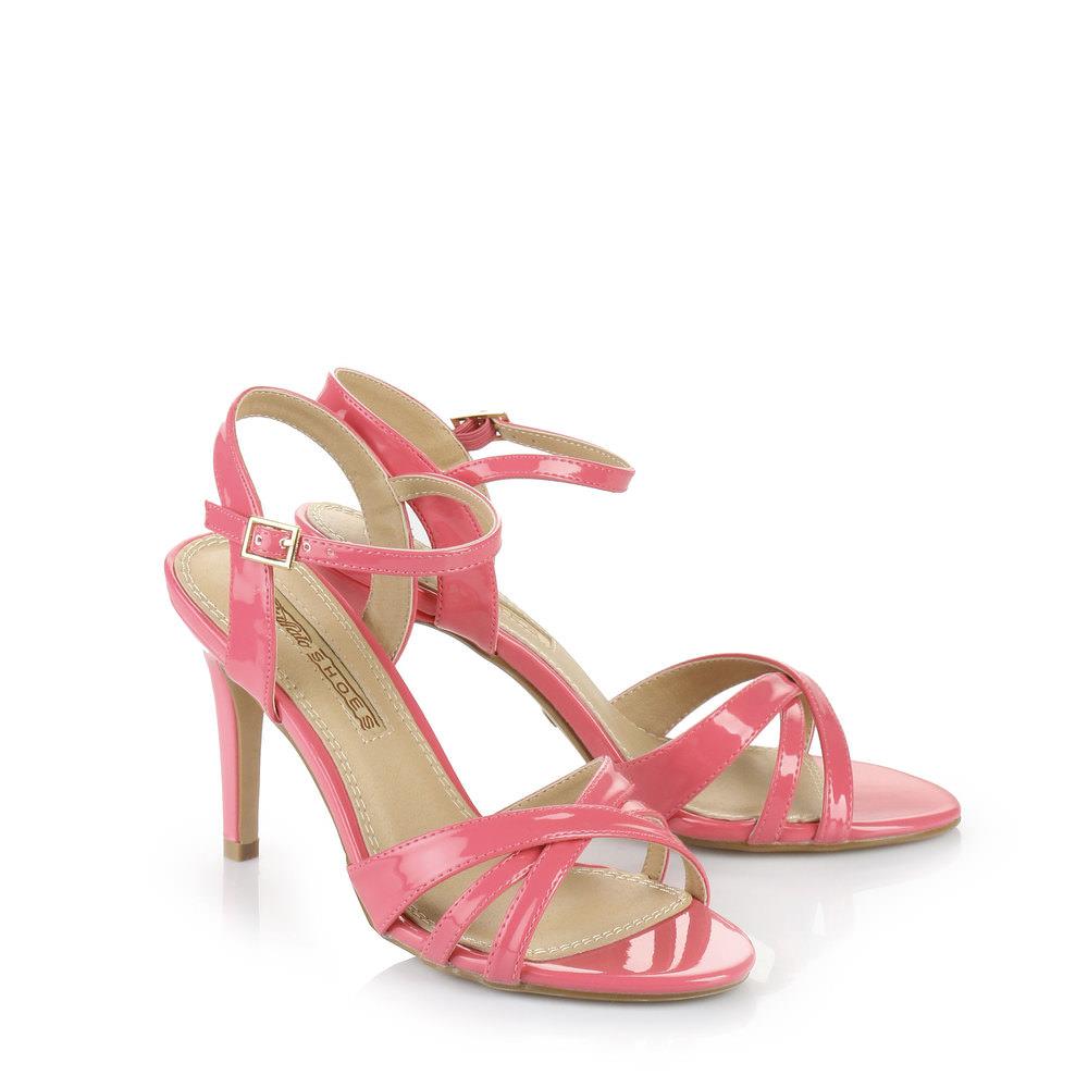 Buffalo Sandalette in pink