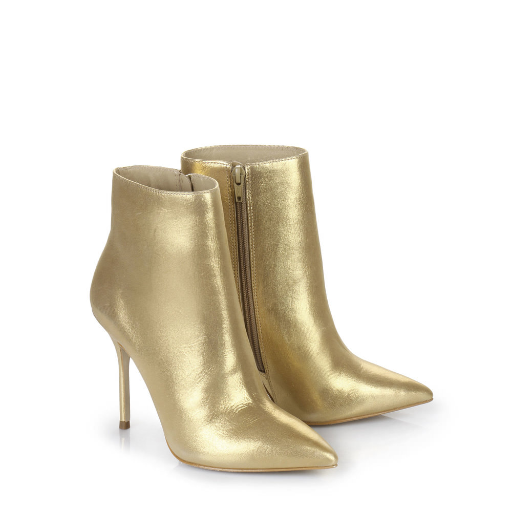 Buffalo Stiefelette in gold