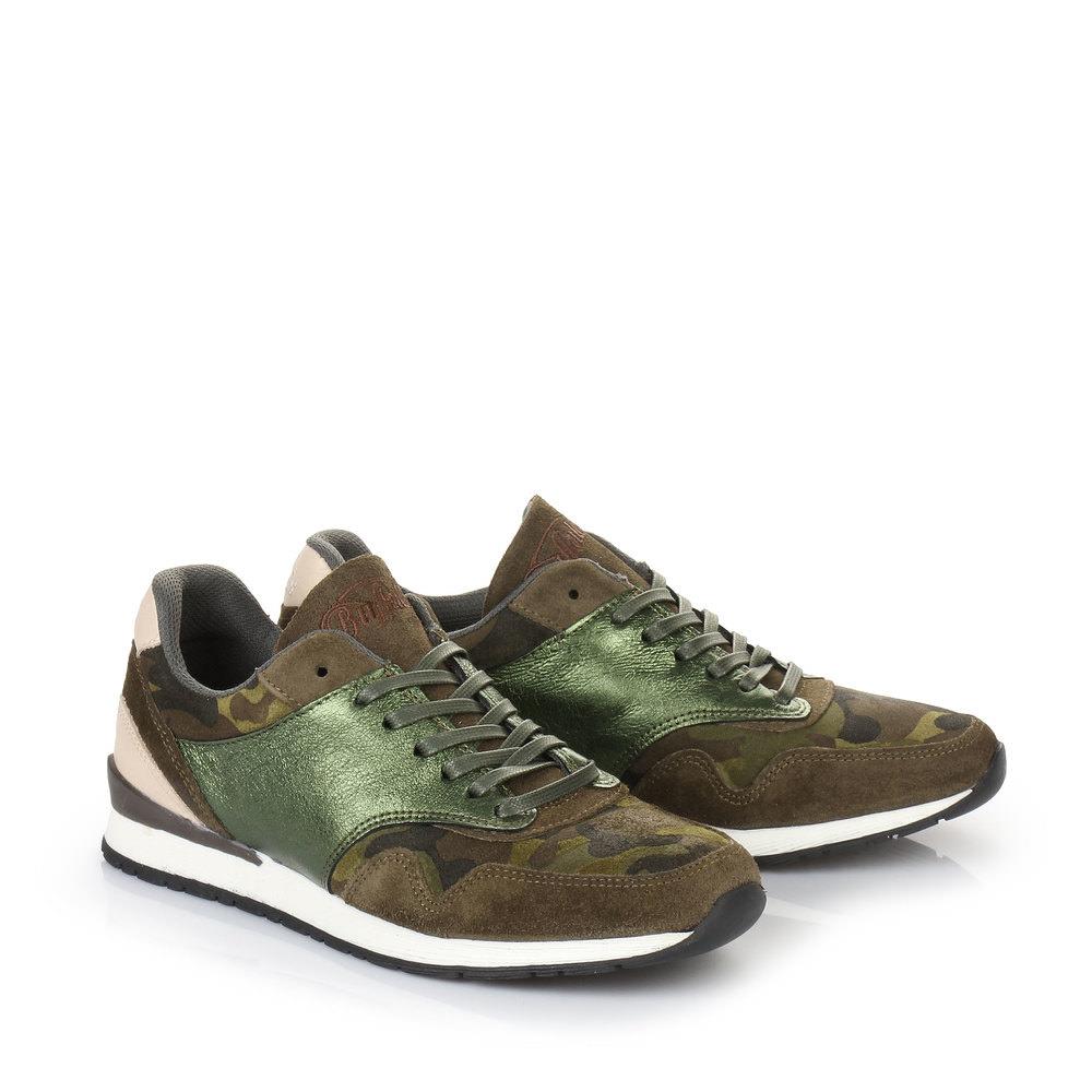 Buffalo Sneaker in camouflage