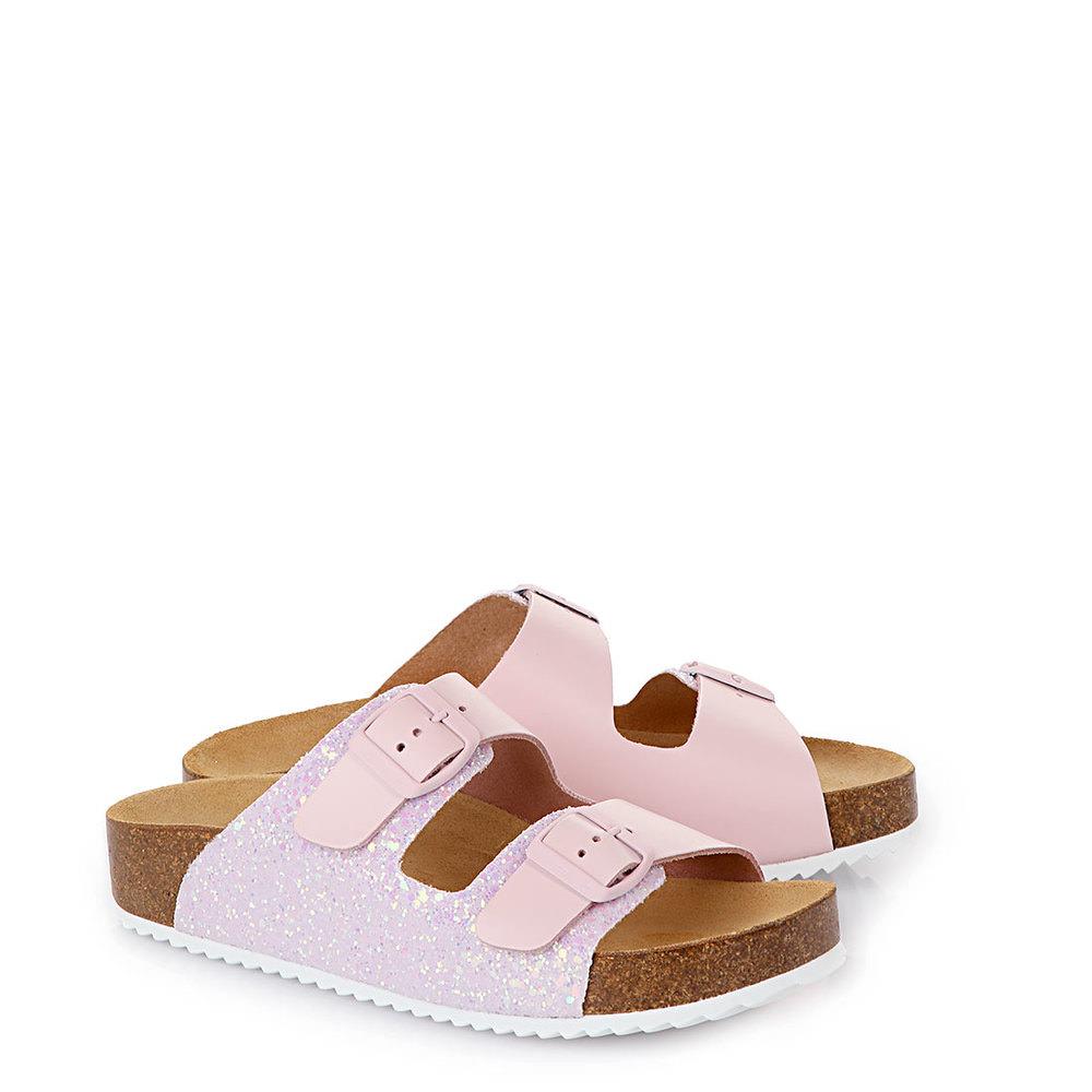 Buffalo Komfort-Pantolette mit ergonomischem Fußbett in rosé Sale Angebote Komptendorf