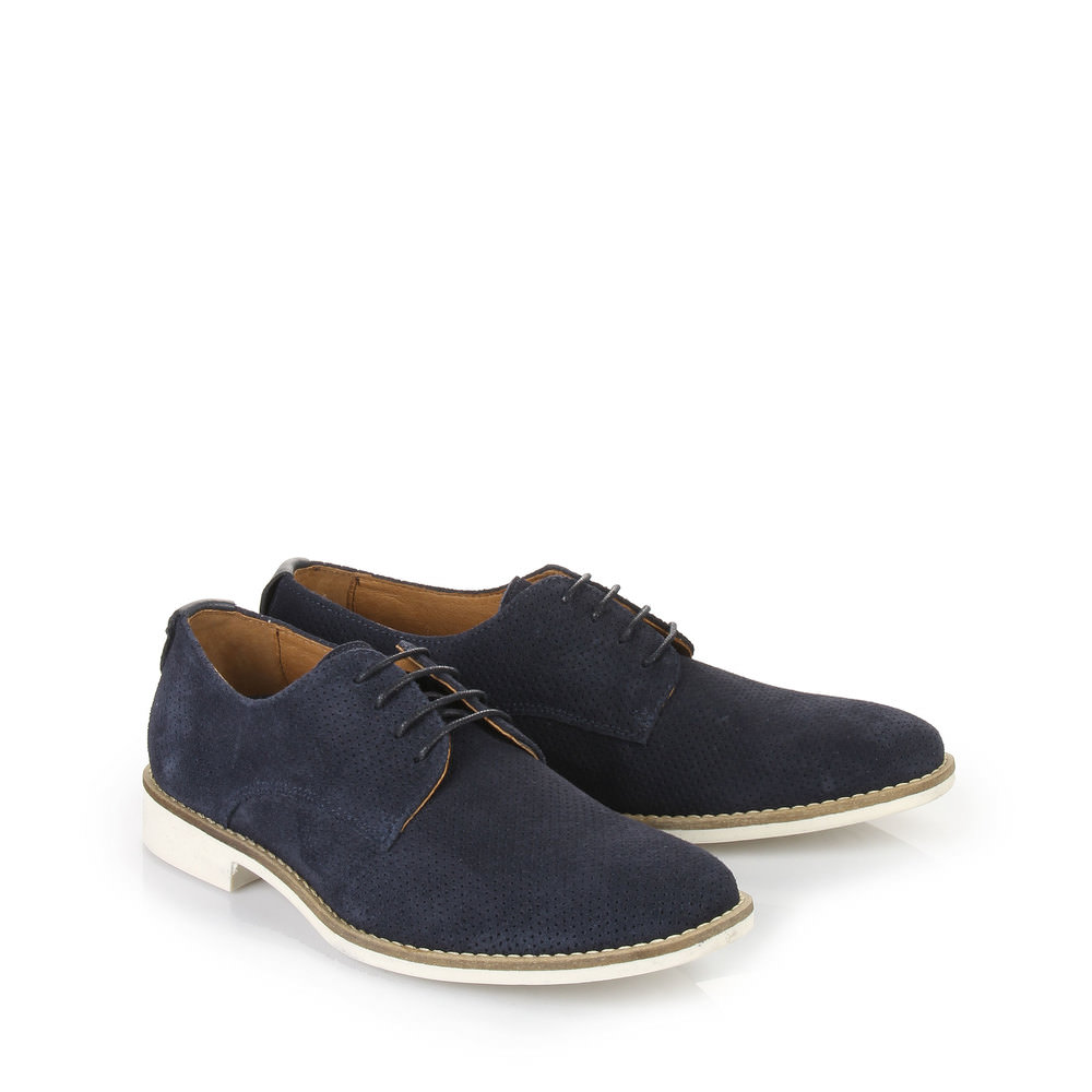 Chaussures à lacets Buffalo pour homme, BLEU FONCÉ