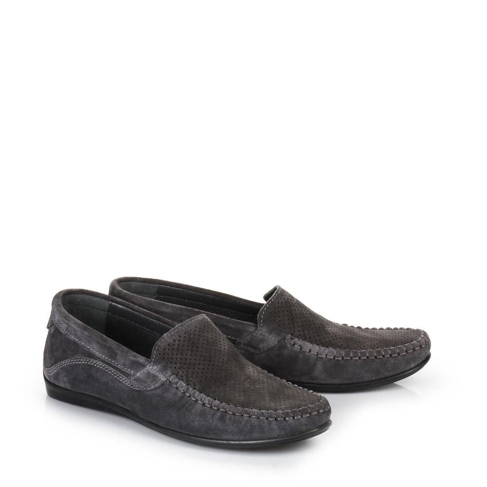 Slippers Buffalo pour homme, gris foncé