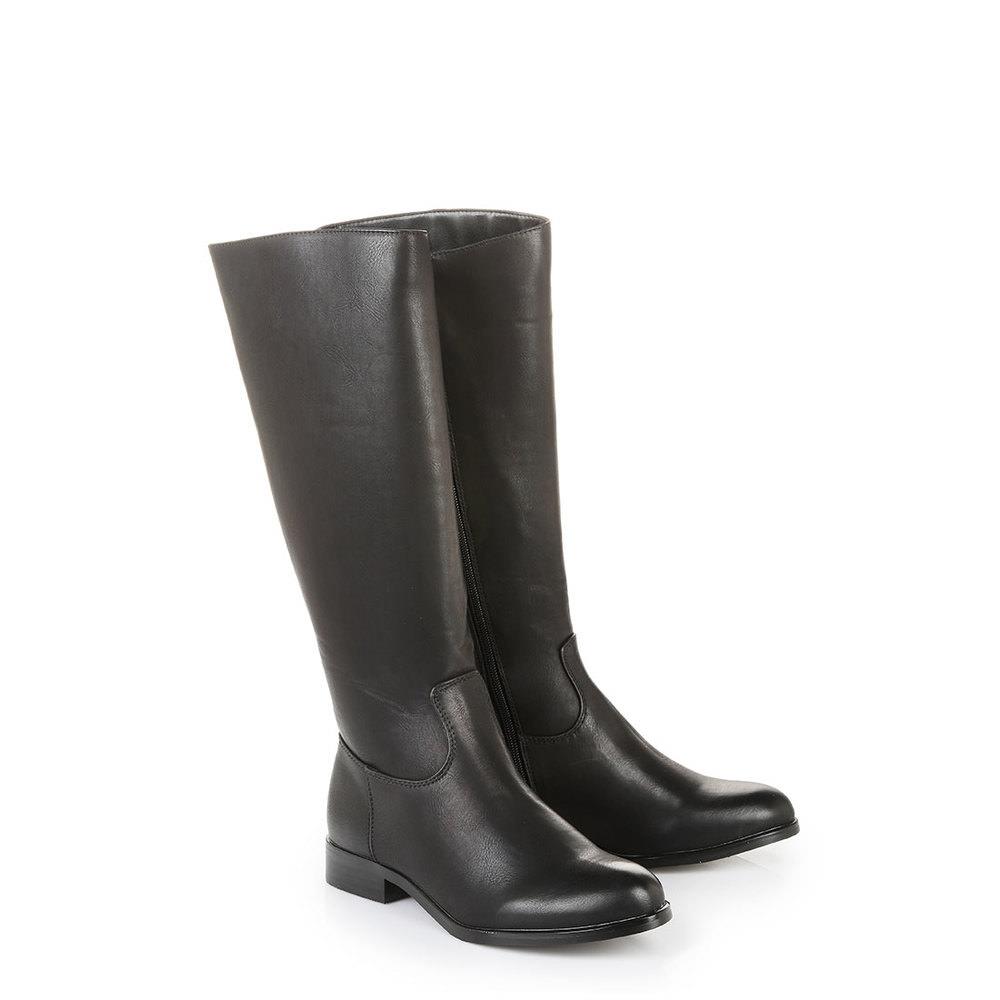 Buffalo Stiefel in schwarz mit kleinem Absatz jetztbilligerkaufen