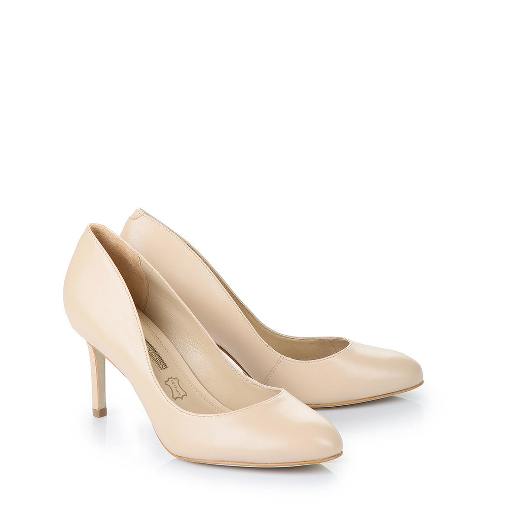 Buffalo runder Pumps in beige bei Buffalo
