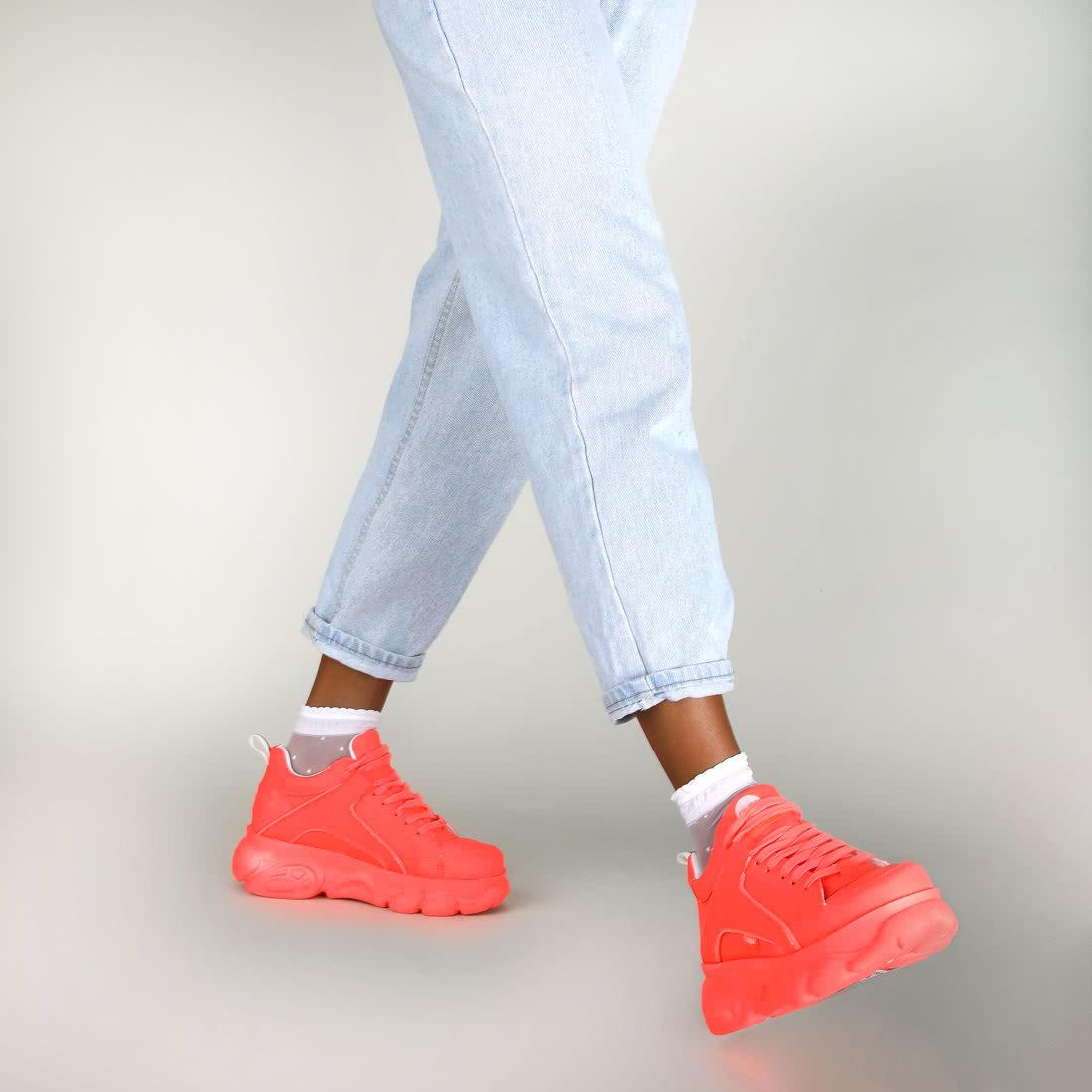 Orange Sneaker Neon Cld Corin Sneaker Corin Cld Neon Orange CdxWeoBEQr
