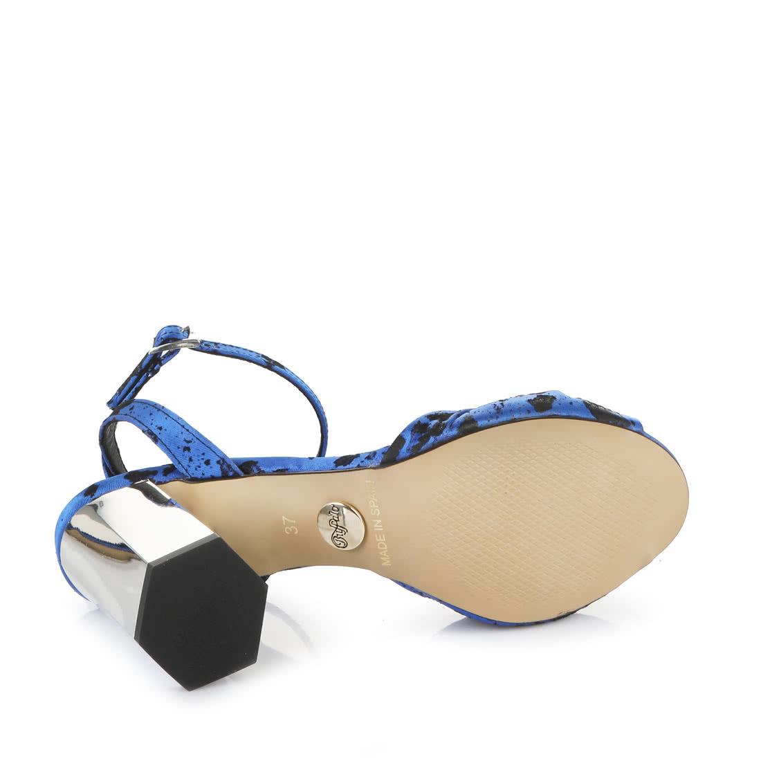 Buffalo Sandales Bleues LigneBuffalo® Talon Acheter En À UzVqMGSp