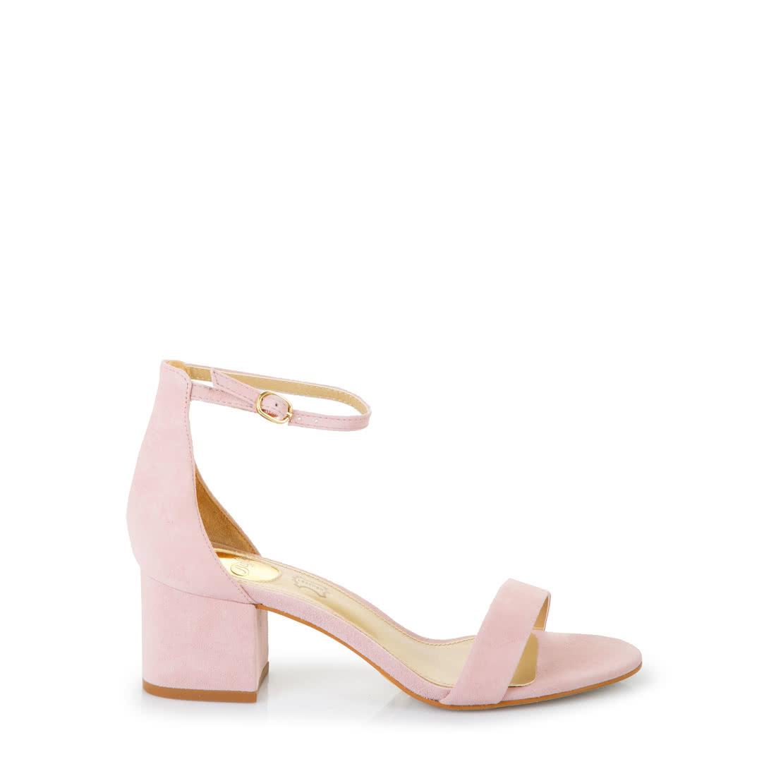 In Rosé KaufenBuffalo® Buffalo Sandalette Online DYE2H9IeW