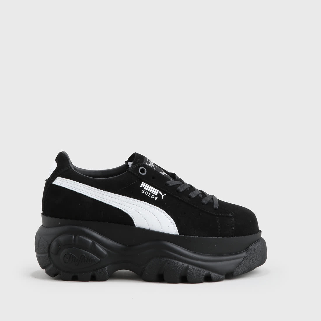 X London Online In Suede Buy Black Platform Buffalo Puma 76vbyfgY