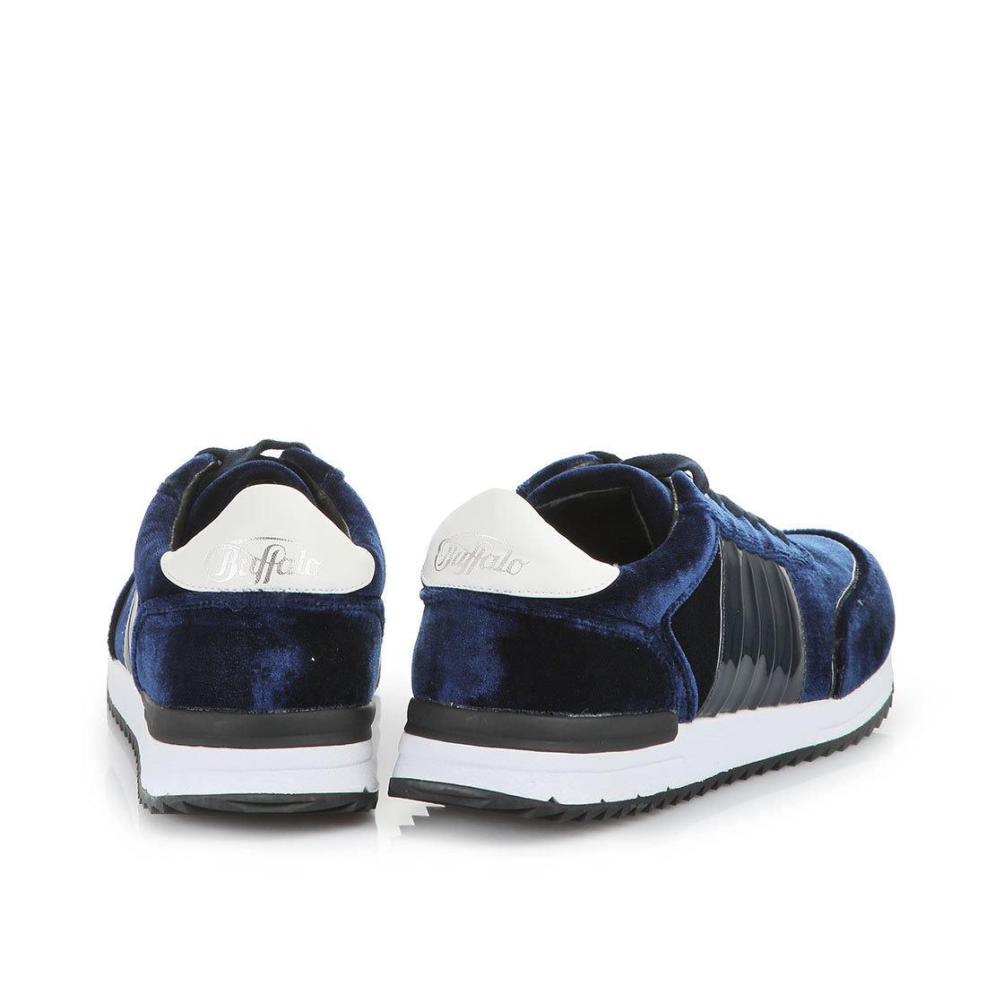 KaufenBuffalo® Buffalo Samt Sneaker In Aus Online Dunkelblau QoWdErCxBe