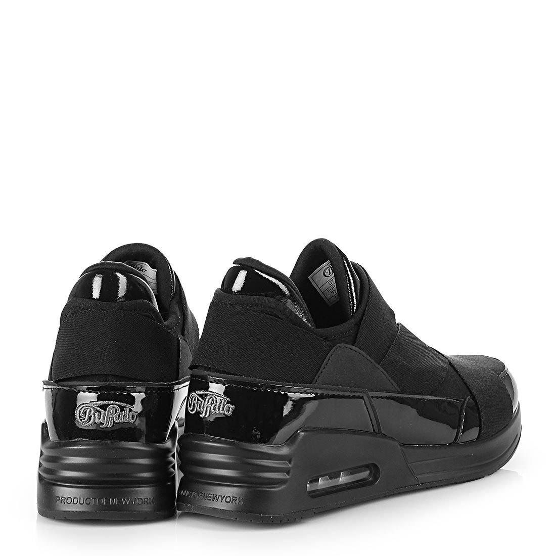 Sneaker in schwarz für Damen Buffalo cheFv9Tud