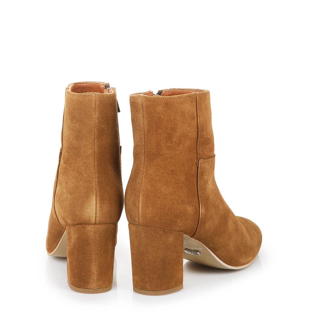 Kaufen Buffalo Stiefelette Mit Absatz Online 7cm In Cognac SqGpUzMV
