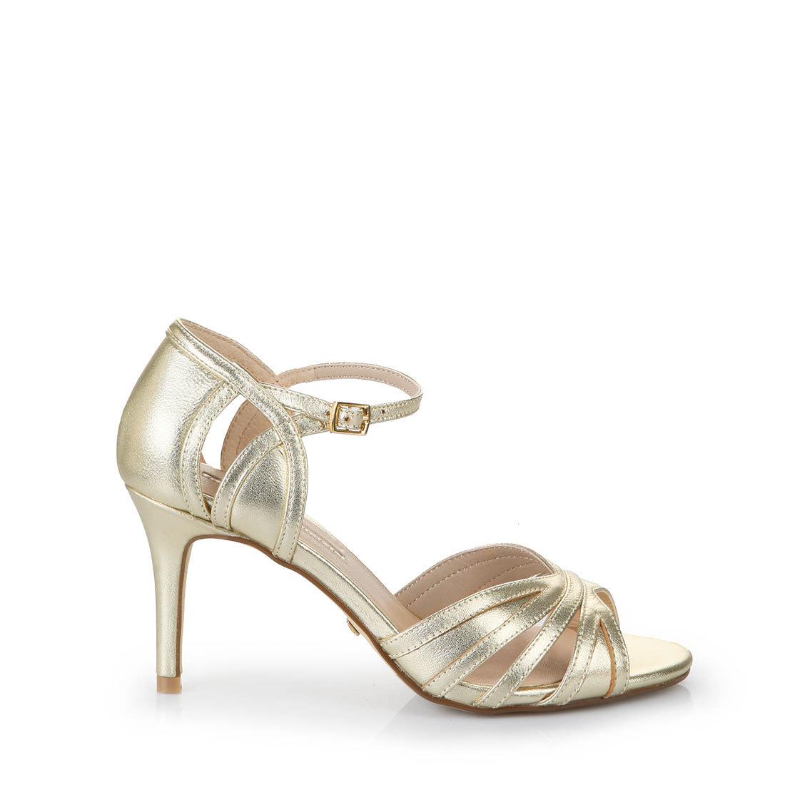 BUFFALO Sandaletten gold 45R8I