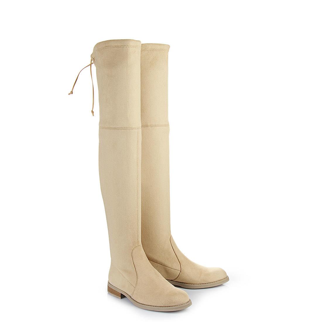 Sandales à talon plateau Buffalo beigesBuffalo u8xYQ
