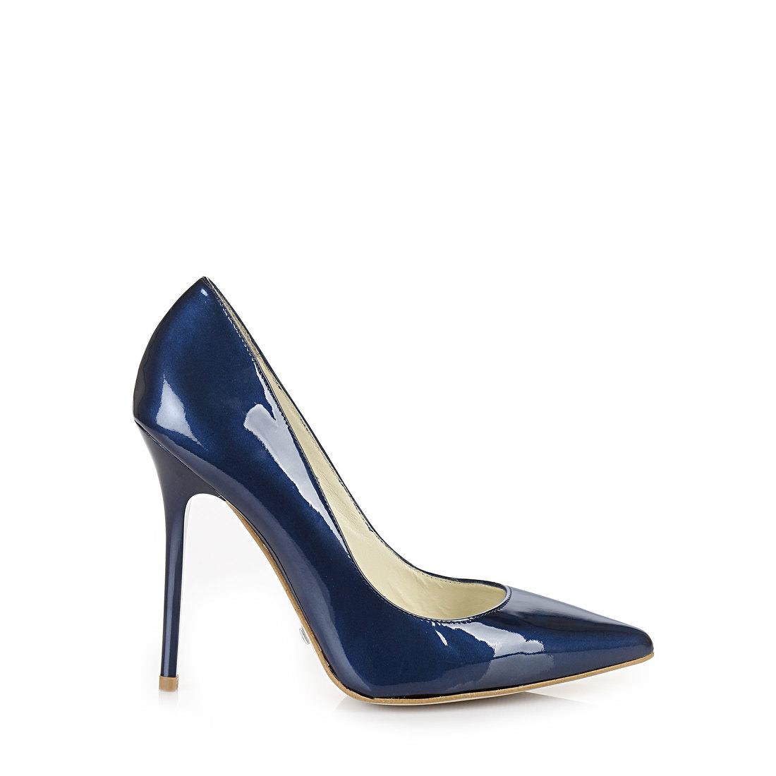 a5e8ebe53b2e80 Buffalo pumps in a luxurious blue buy online in BUFFALO Online-Shop ...