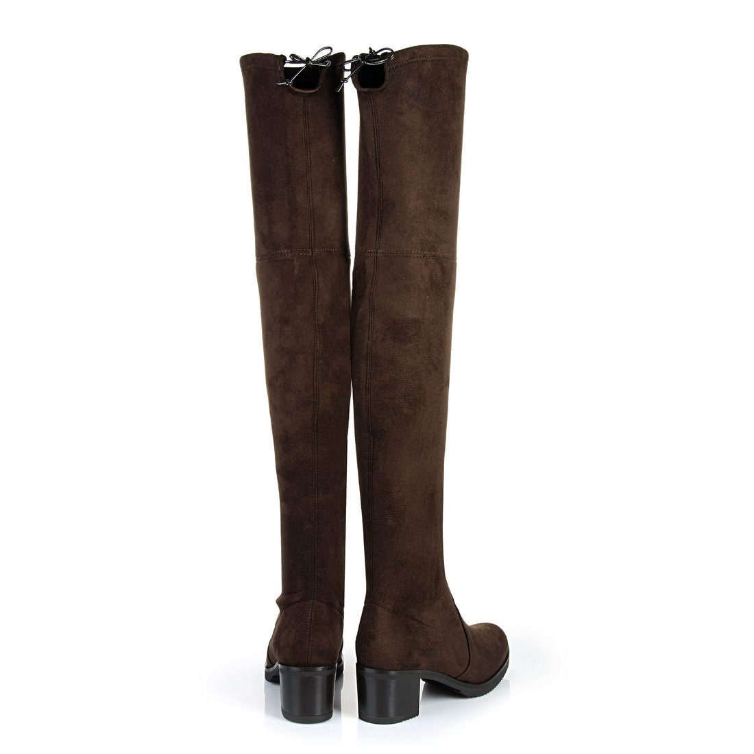 buffalo over the knee boots in dark brown buy online in buffalo online shop buffalo. Black Bedroom Furniture Sets. Home Design Ideas