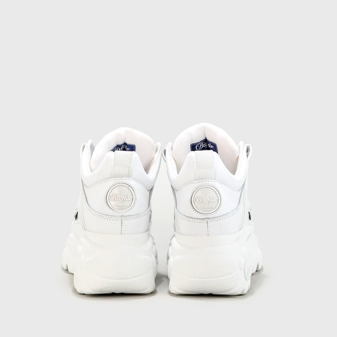 Buffalo London, 1533095 Sneakers Low, weiß