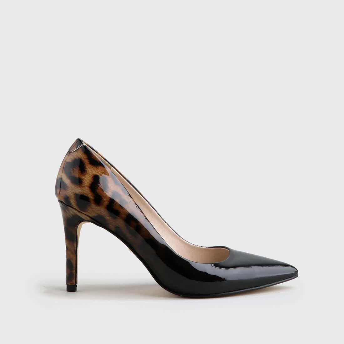 27e574047ddda Amani Pumps varnish look leopard-black buy online in BUFFALO Online ...