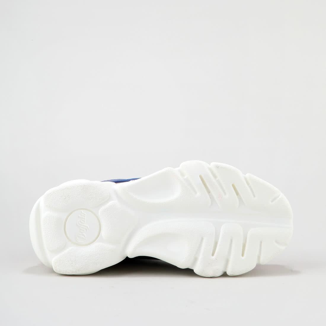 f65c974ebccb89 CLD Colby Baskets mesh aspect cuir bleu/blanc/rouge acheter à ...