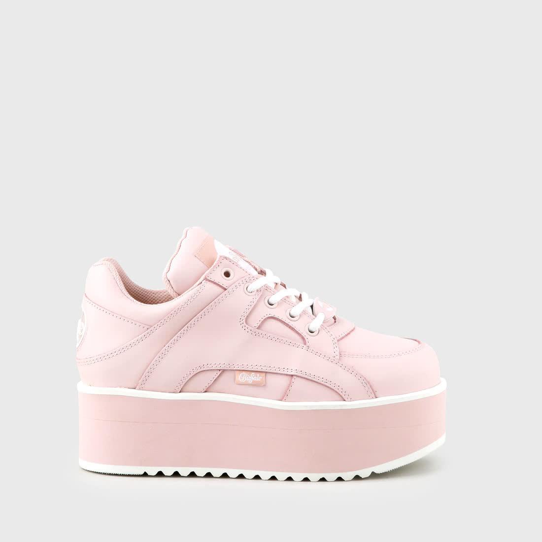 Rising Towers sneaker nappa baby pink