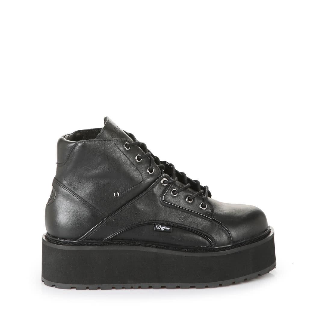 huge selection of 546d9 47d18 Buffalo platform trainers in black buy online in BUFFALO ...