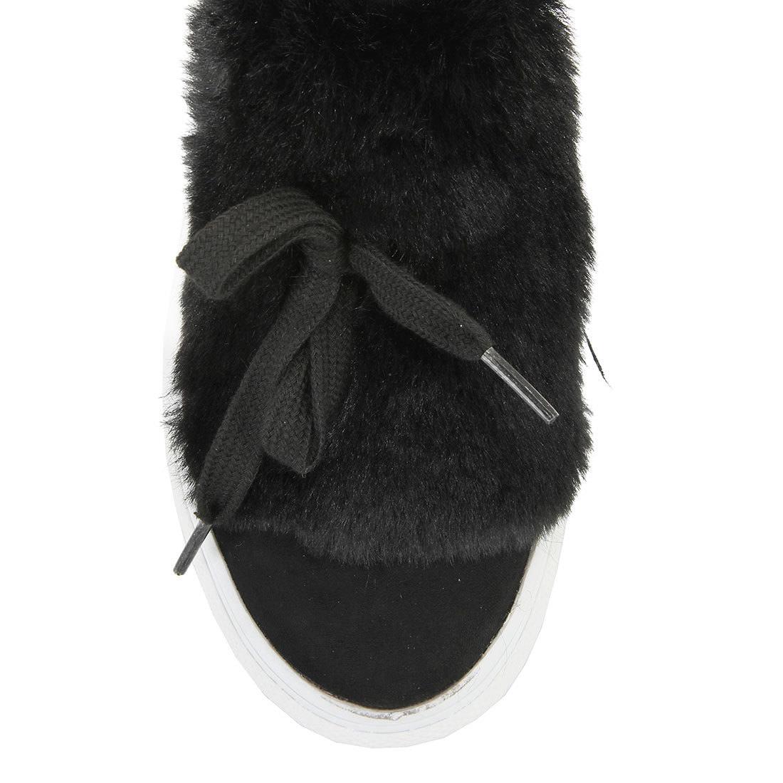 buffalo plateau slip on in schwarz mit wei er sohle online. Black Bedroom Furniture Sets. Home Design Ideas