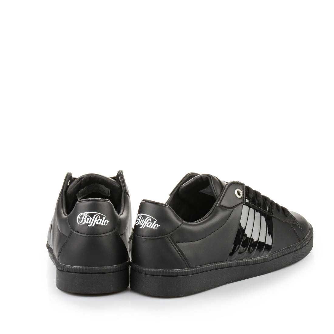 buffalo gills sneaker in schwarz online im buffalo online shop kaufen buffalo online shop. Black Bedroom Furniture Sets. Home Design Ideas