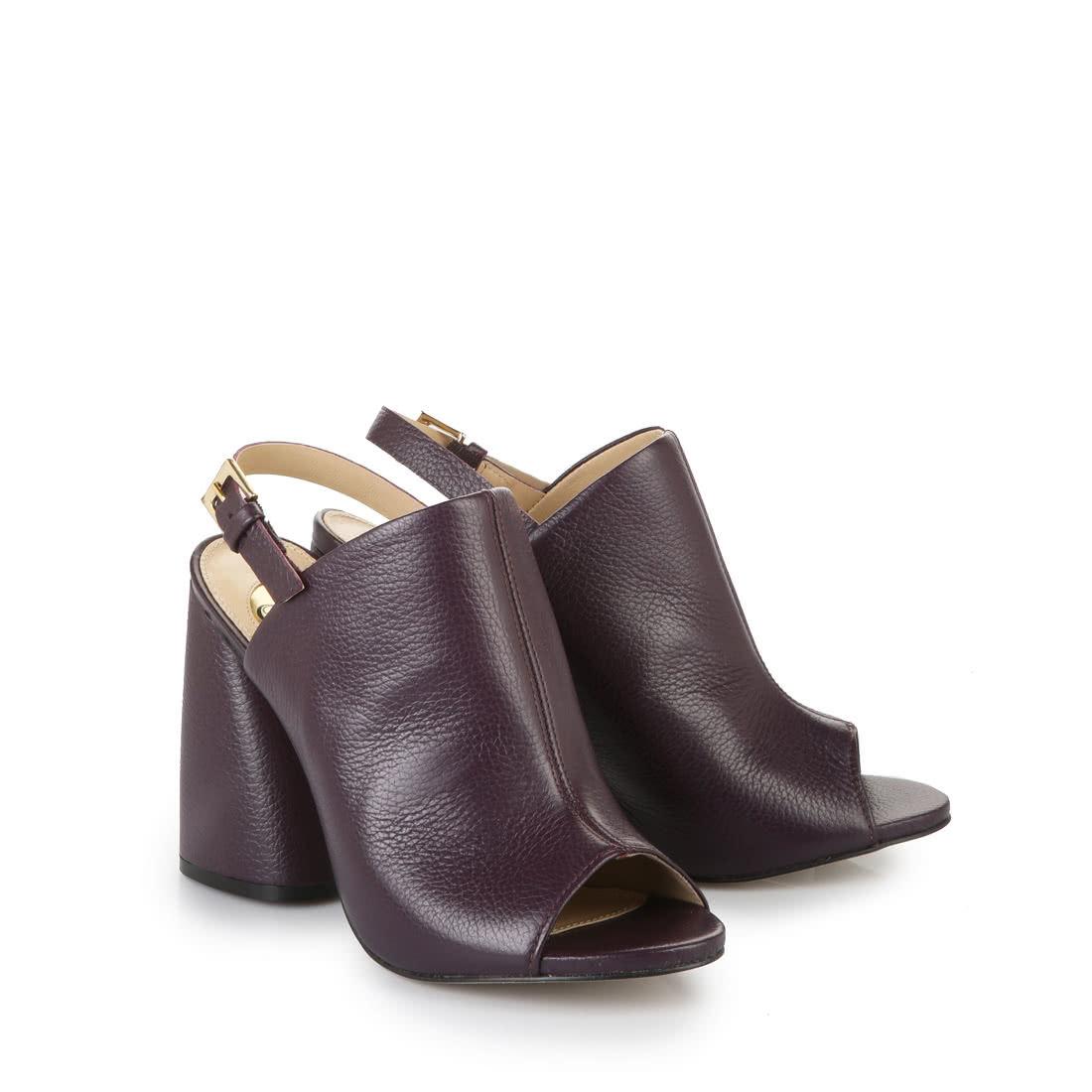 buffalo peeptoe sandalette in lila online kaufen buffalo. Black Bedroom Furniture Sets. Home Design Ideas