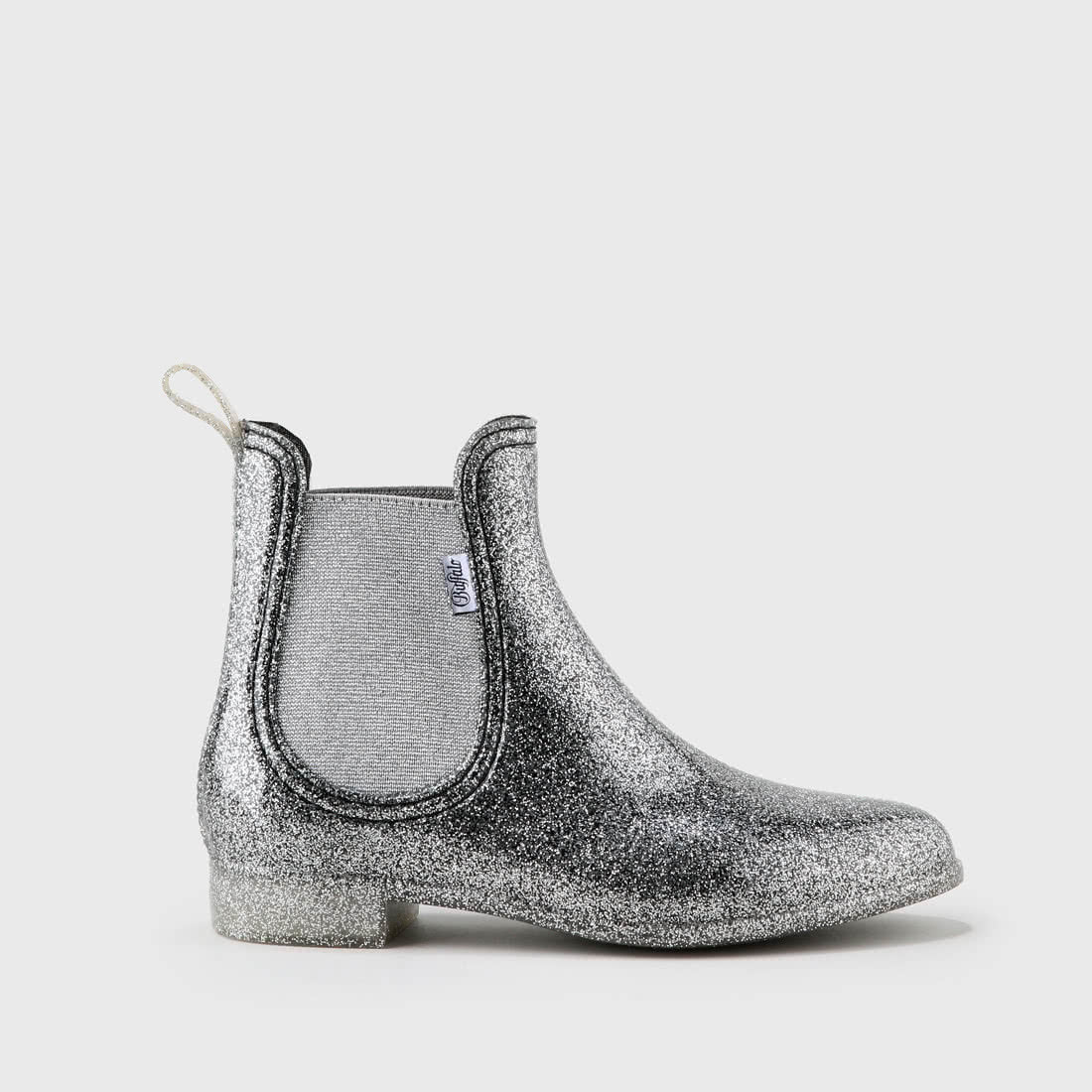 f13b9a416b5 Aline chelsea boots glitter-covered rubber silver buy online in ...