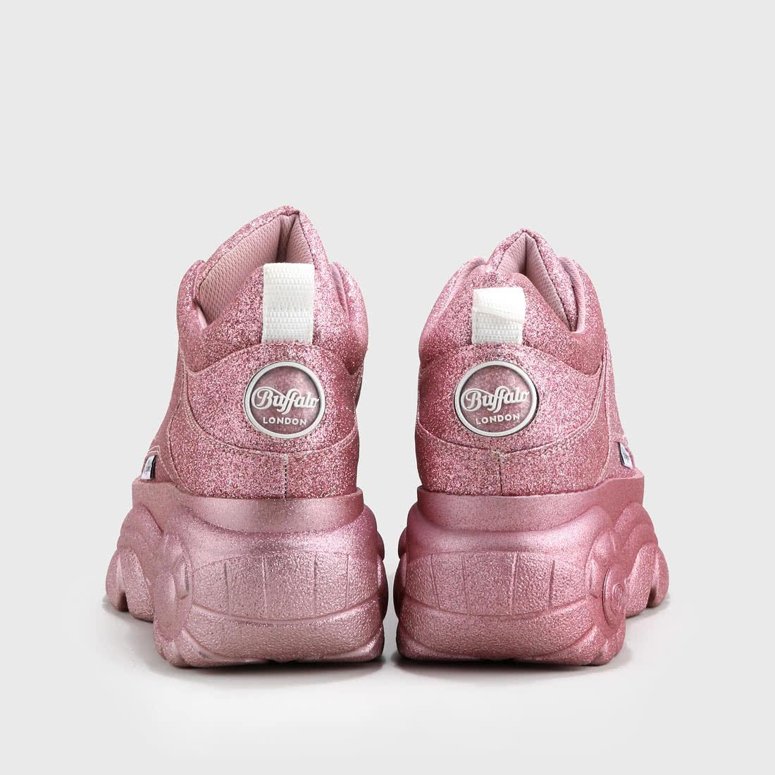 newest a45b2 b239c Buffalo Classics Low glitter pink