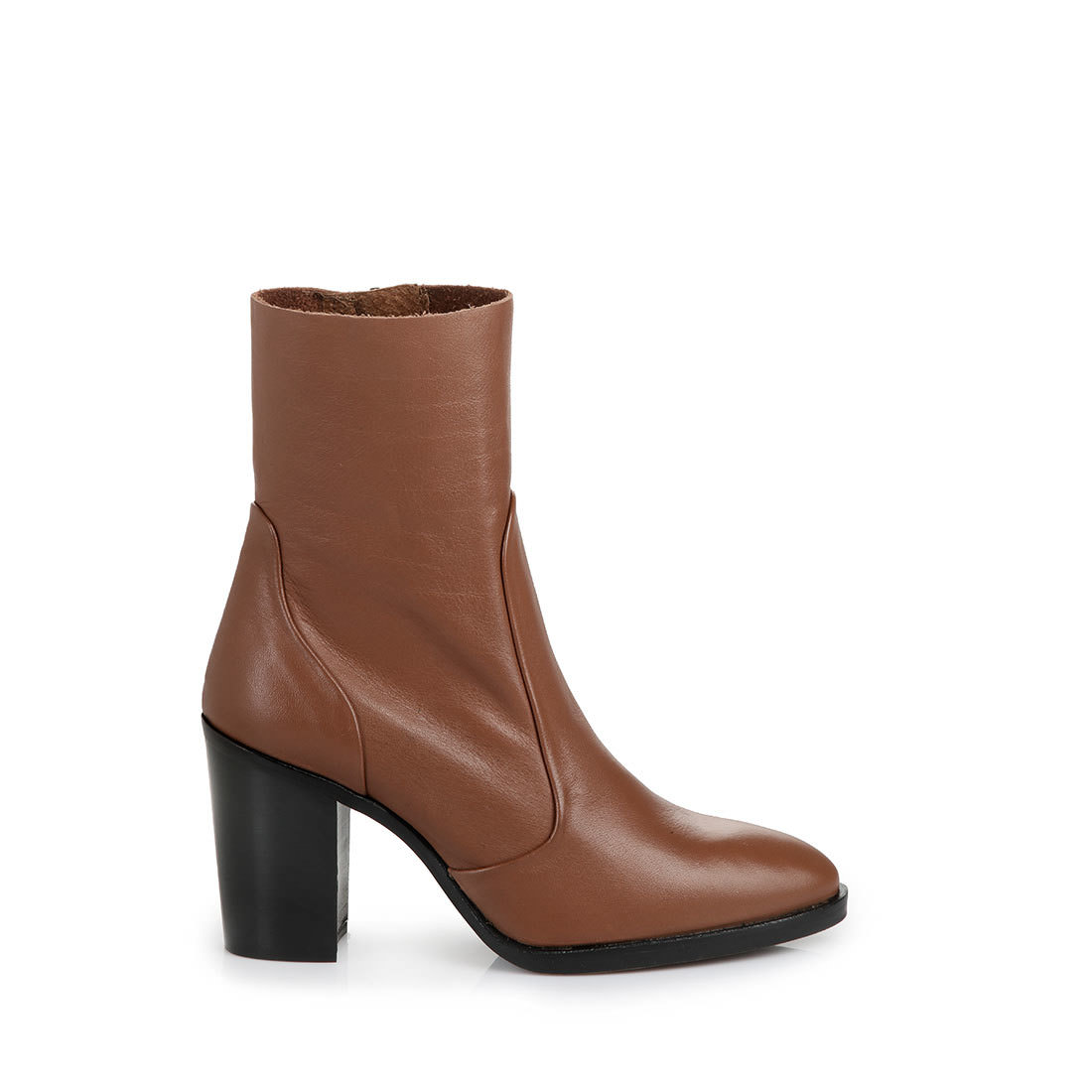buffalo slim leg ankle boots in brown buy online in buffalo online shop buffalo. Black Bedroom Furniture Sets. Home Design Ideas