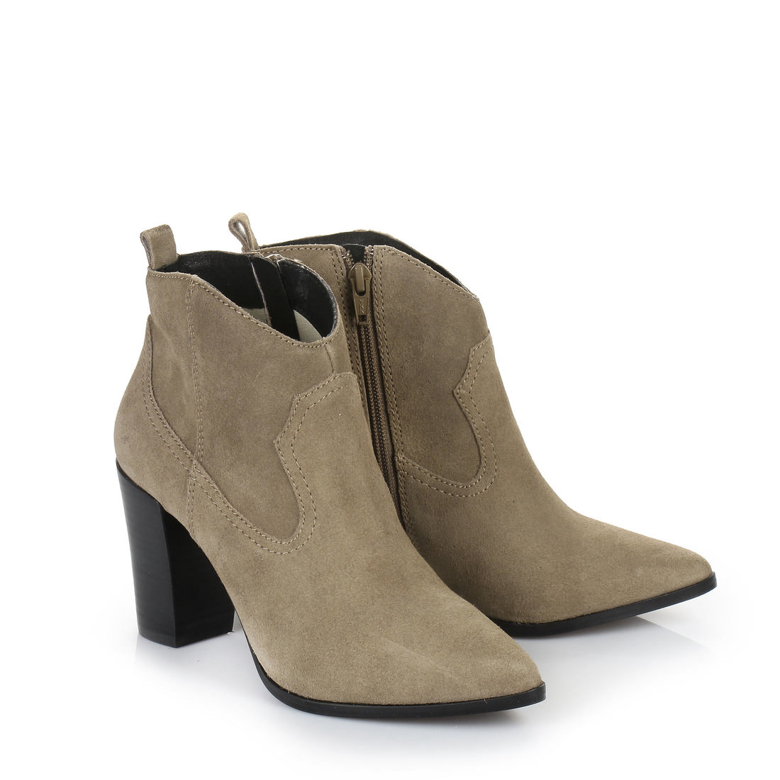 buffalo ankle boots in taupe buy online in buffalo online shop buffalo. Black Bedroom Furniture Sets. Home Design Ideas