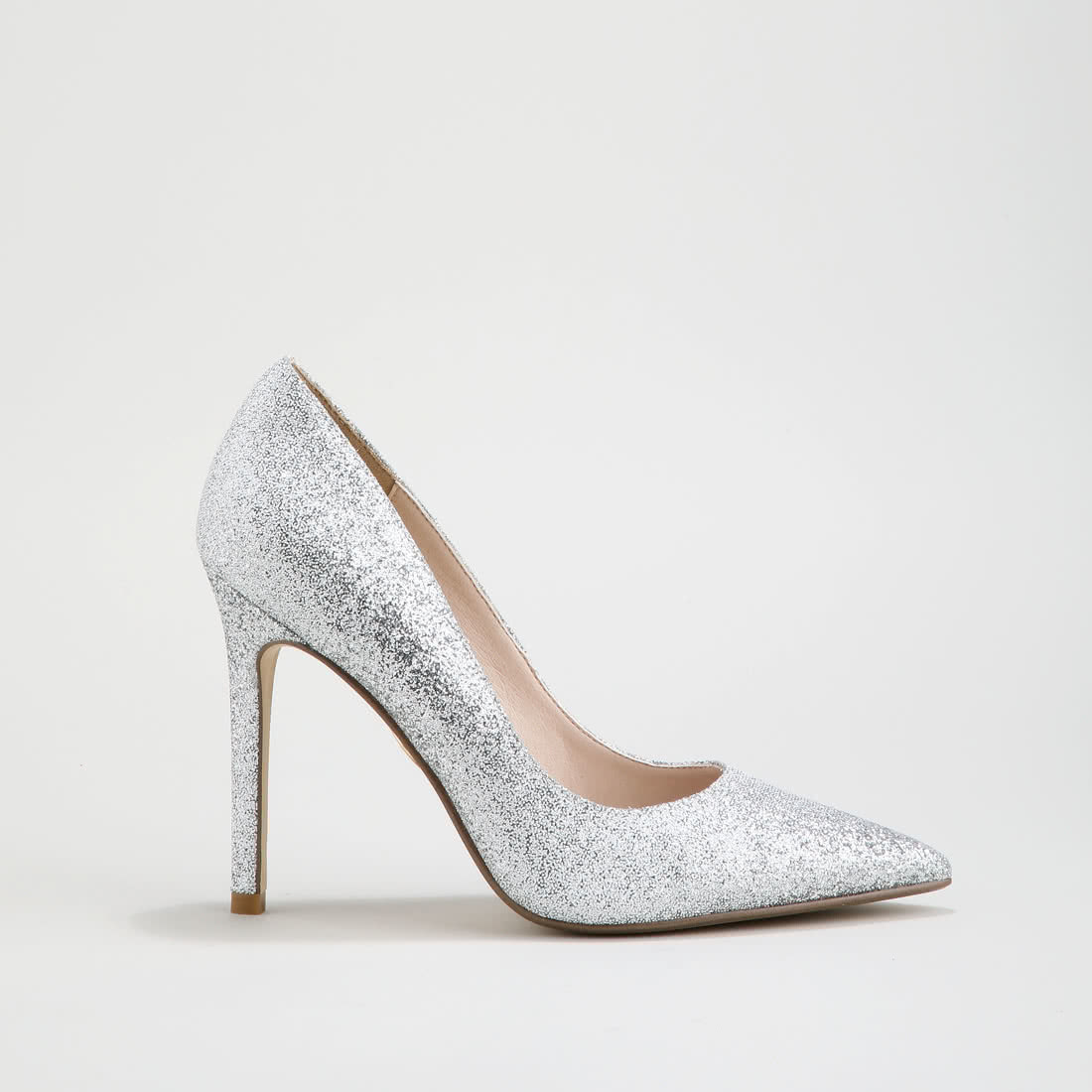 65a46b10ca0 Amica party pumps glitter-covered silver buy online in BUFFALO ...