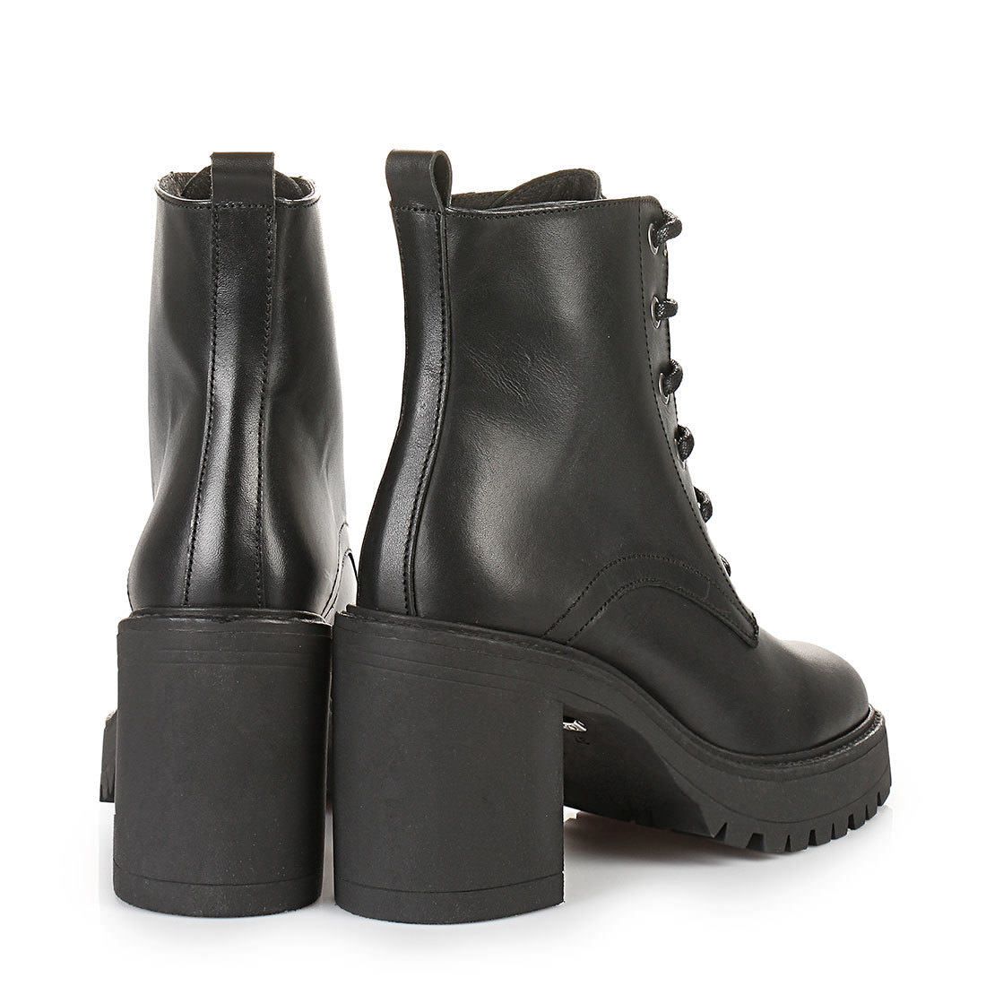 buffalo platform ankle boots in black buy online in buffalo online shop buffalo. Black Bedroom Furniture Sets. Home Design Ideas