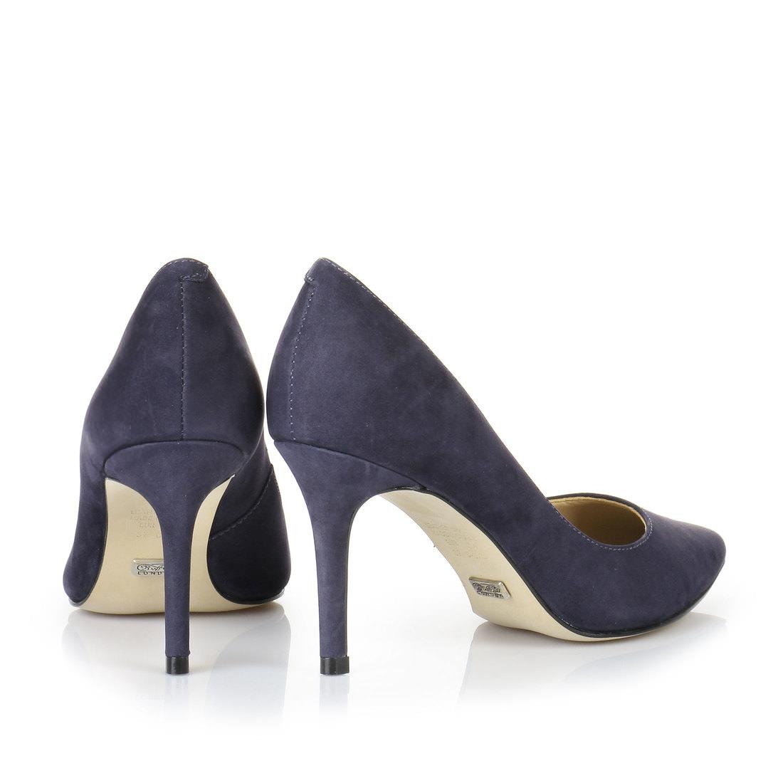 Buffalo pumps in dark blue buy online in BUFFALO Online-Shop ...