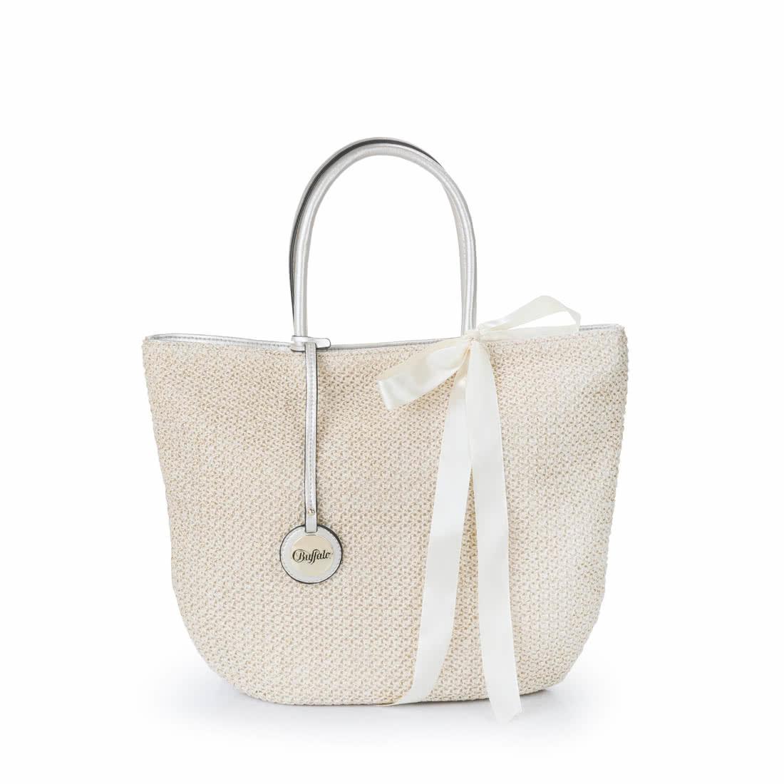 buffalo beach bag with bow buy online in buffalo online shop buffalo. Black Bedroom Furniture Sets. Home Design Ideas