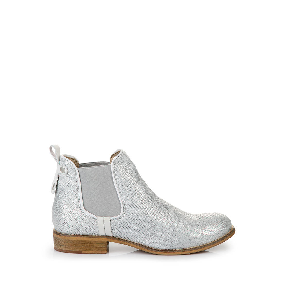 buffalo chelsea boots in silver buy online in buffalo online shop buffalo. Black Bedroom Furniture Sets. Home Design Ideas
