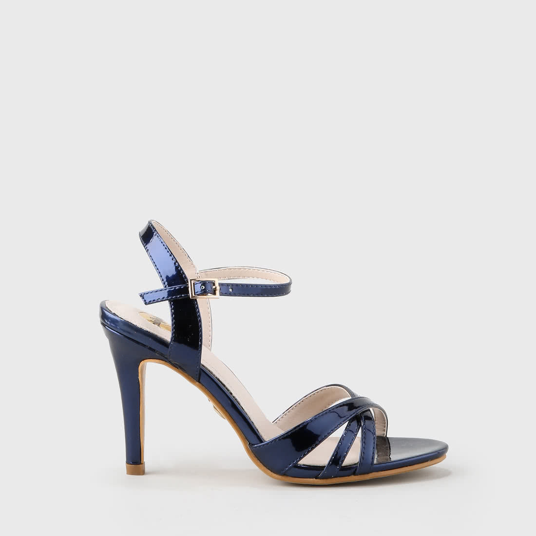 912afa75e4 Anja Ankle-Strap Sandal varnish look navy buy online in BUFFALO ...