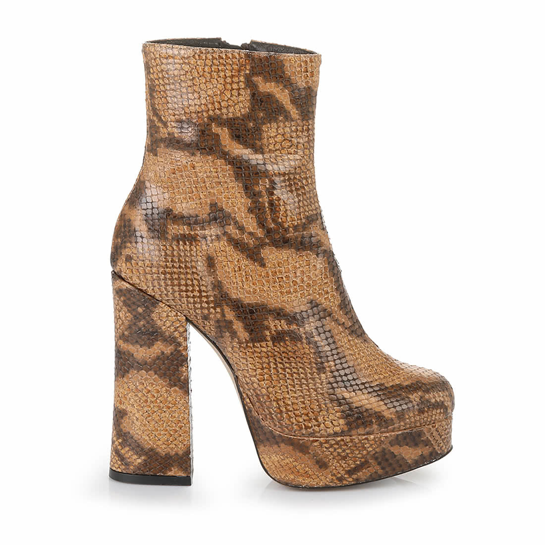 Tosio Ankle Boot aus Leder snakeskin online kaufen   BUFFALO® 2d5d5b656a
