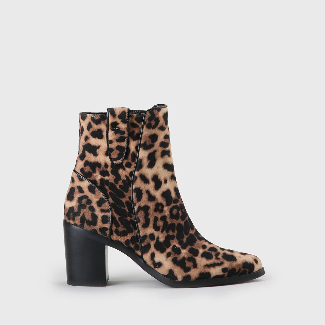 cheap for discount 0af16 ca318 Flicka Ankle Boot suede look leopard