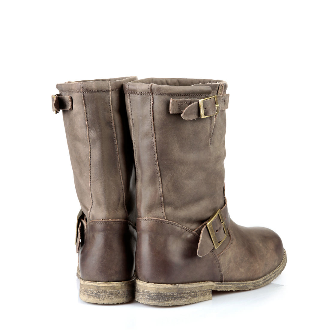 lined buffalo biker boots in brown buy online in buffalo online shop buffalo. Black Bedroom Furniture Sets. Home Design Ideas