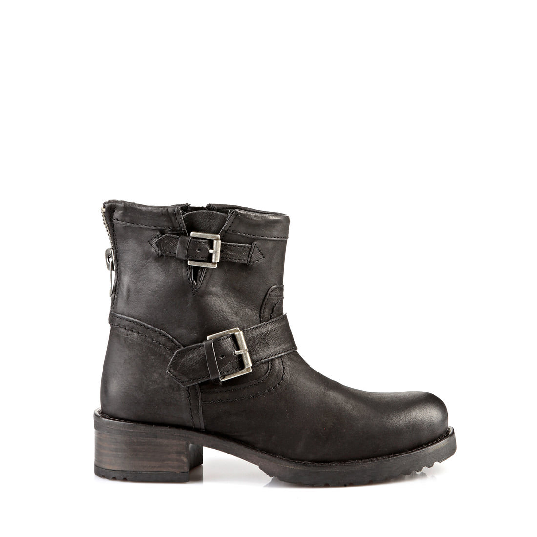 buffalo biker boots in black buy online in buffalo online. Black Bedroom Furniture Sets. Home Design Ideas