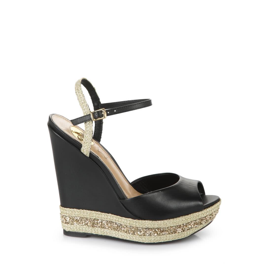 fff93827a57 Buffalo wedge sandals in black buy online in BUFFALO Online-Shop ...