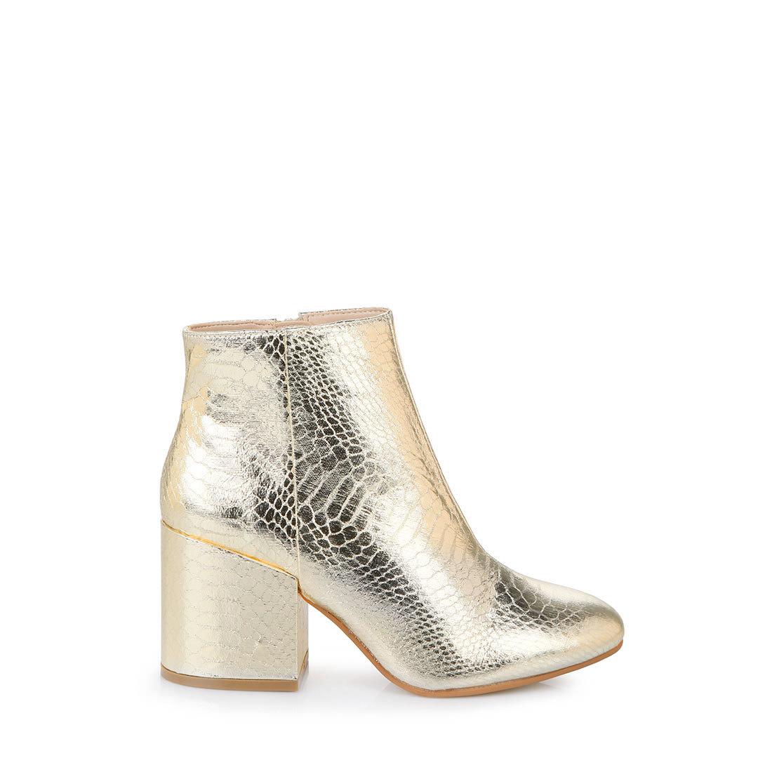 buffalo ankle boots in gold buy online in buffalo online shop buffalo. Black Bedroom Furniture Sets. Home Design Ideas